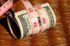Em um orçamento muito apertado Imagens de Stock