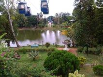 Em um parque perto da praia de Digha, Bengal ocidental, Índia Foto de Stock Royalty Free