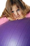 Em uma esfera Imagem de Stock