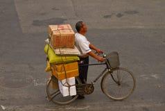 Em uma estrada transversaa de Beijing Fotografia de Stock Royalty Free