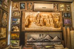 Em uma loja do papiro Fotografia de Stock