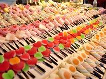 Em uma loja dos doces Imagem de Stock Royalty Free
