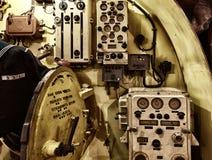 Em uma navio de guerra Fotografia de Stock
