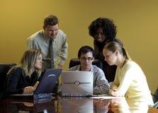 Em uma reunião 1 Imagem de Stock Royalty Free