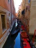 Em Veneza fotografia de stock royalty free
