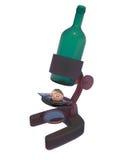 Em veritas do vino ilustração stock