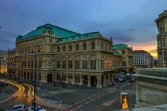 Em Viena foto de stock