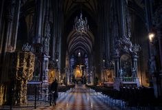 Em Viena fotos de stock royalty free
