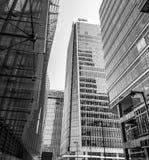 EMA που χτίζει - σύγχρονος ουρανοξύστης στο Canary Wharf - το ΛΟΝΔΙΝΟ - τη ΜΕΓΑΛΗ ΒΡΕΤΑΝΊΑ - 19 Σεπτεμβρίου 2016 Στοκ Εικόνες
