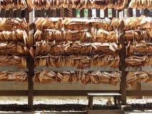 Ema, деревянные таблетки молитве в святыне Стоковое Изображение RF