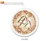 Ema Datshi o Bhutanese Chili Cheese Stew Fotografia Stock Libera da Diritti