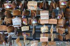 Ema prayer boards Royalty Free Stock Image