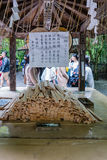 Ema (Wooden Wishing Plaques) at Nonomiya Shrine Royalty Free Stock Photography