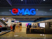 Free EMAG Showroom Baneasa, Bucharest, Romania. Stock Images - 169726974
