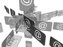 Email Imagenes de archivo