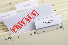 Email. You`ve got mail - symbol for privacy in email communication Stock Image