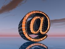 Email. Symbol Stock Photography