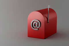 Email Immagine Stock