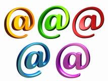 Email Immagini Stock Libere da Diritti