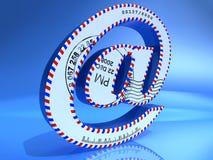 Email Foto de Stock