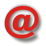 Email. Special character Royalty Free Stock Photo