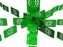 Email Foto de archivo libre de regalías