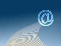 EMail-Abbildung Lizenzfreie Stockfotografie