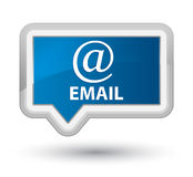 Email (address icon) prime blue banner button Stock Images