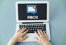 Email Alert Popup Reminder Concept Royalty Free Stock Photo