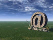 Email alias Stock Photo