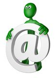 Email alias Royalty Free Stock Photography