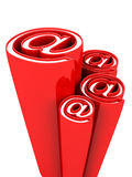 Email alias concept symbol Royalty Free Stock Photos