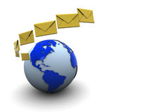 Email background Stock Images