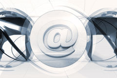 Email background Stock Photos
