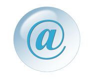 Email button Royalty Free Stock Images