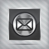 Email button icon Stock Photo