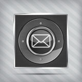 Email button icon Stock Image