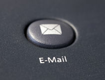 Email button on keyboard Stock Photography