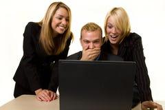Email chocante Imagens de Stock