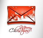 Email christmas icon Royalty Free Stock Photo