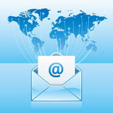 email communication Royalty Free Stock Photos