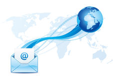 email communication Stock Photos