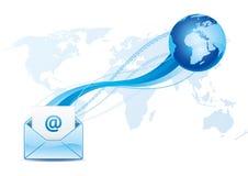 email communication Stock Photos