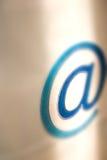 Email communication - @ royalty free stock image