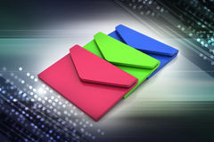 Email, communication concept Stock Image