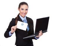 Email, concept Image libre de droits
