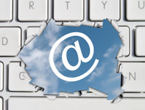 Email concept Royalty Free Stock Photos