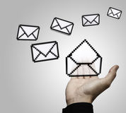 Email concept Royalty Free Stock Photo