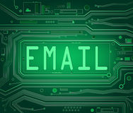Email concept. Royalty Free Stock Images