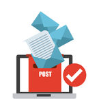 Email concept Royalty Free Stock Image